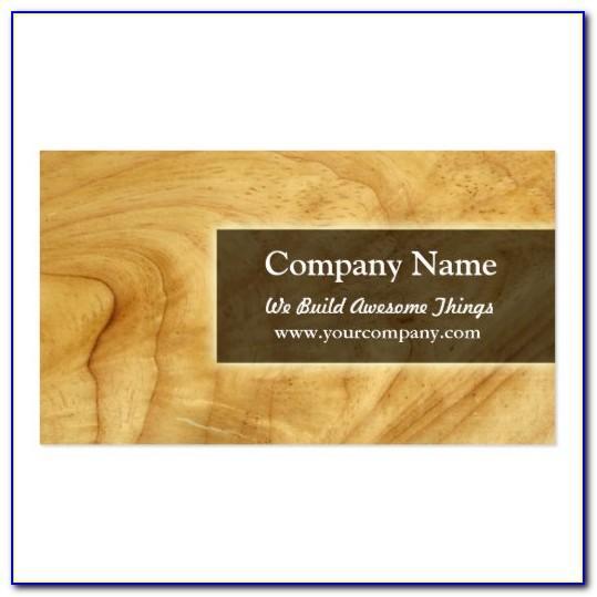 Carpenter Business Card Template Free