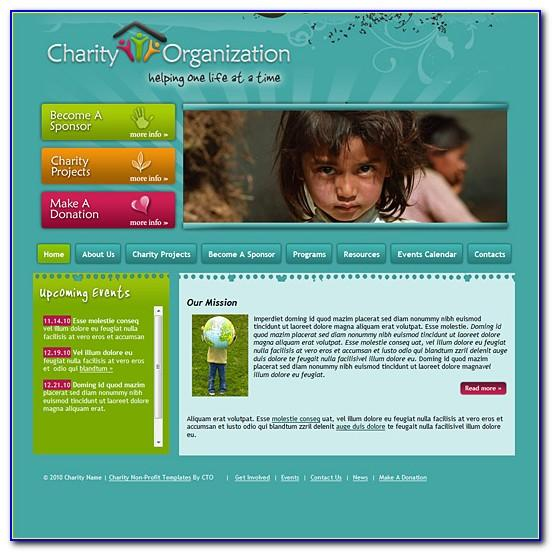 Charity Template Home