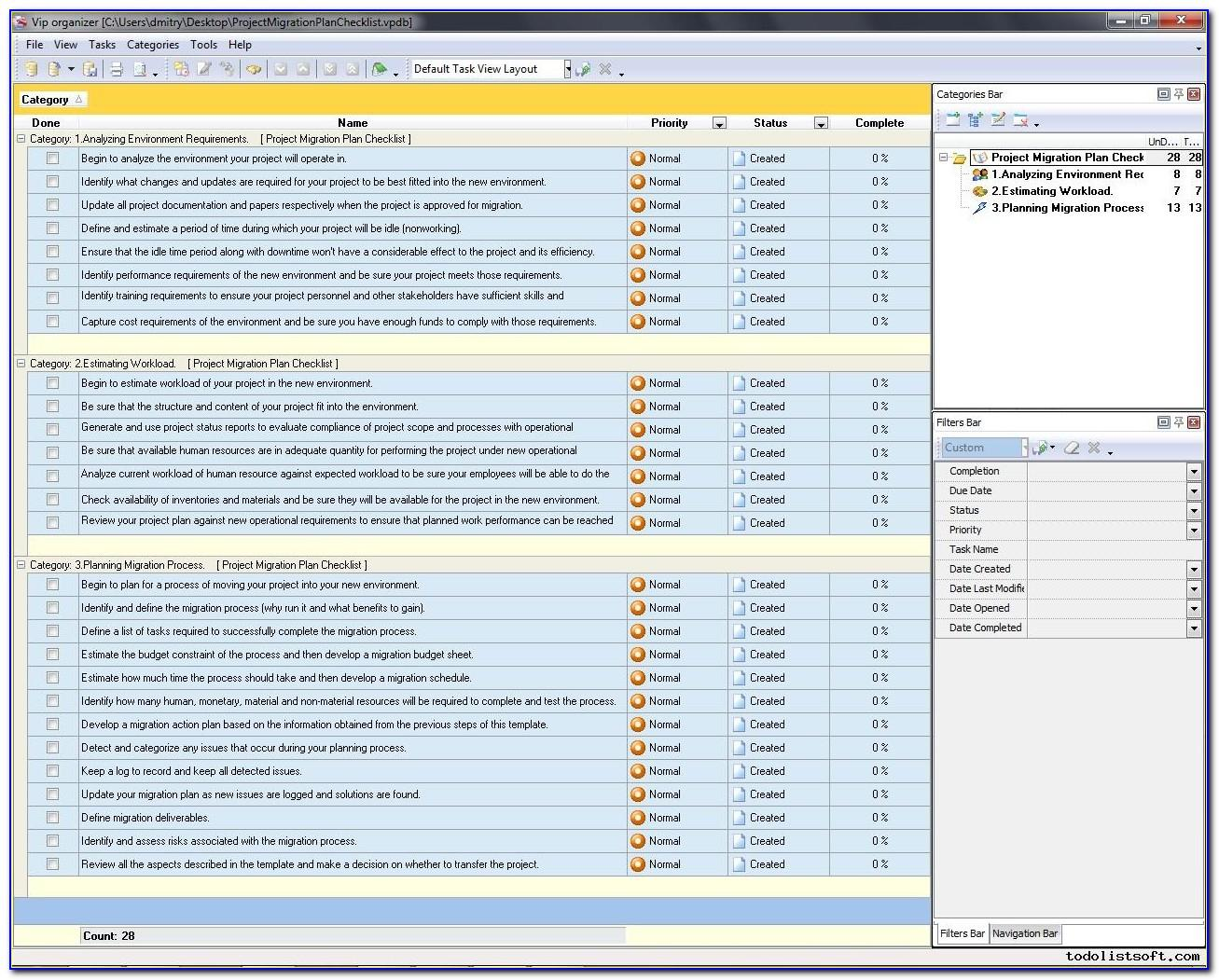 Data Migration Project Plan Example