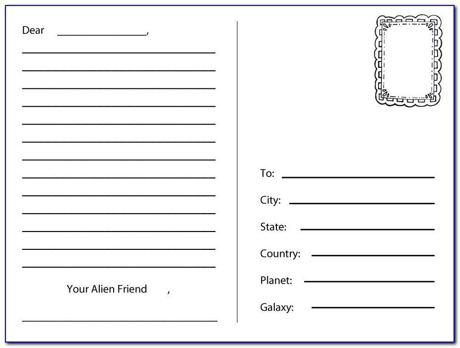 Design Templates For Postcards