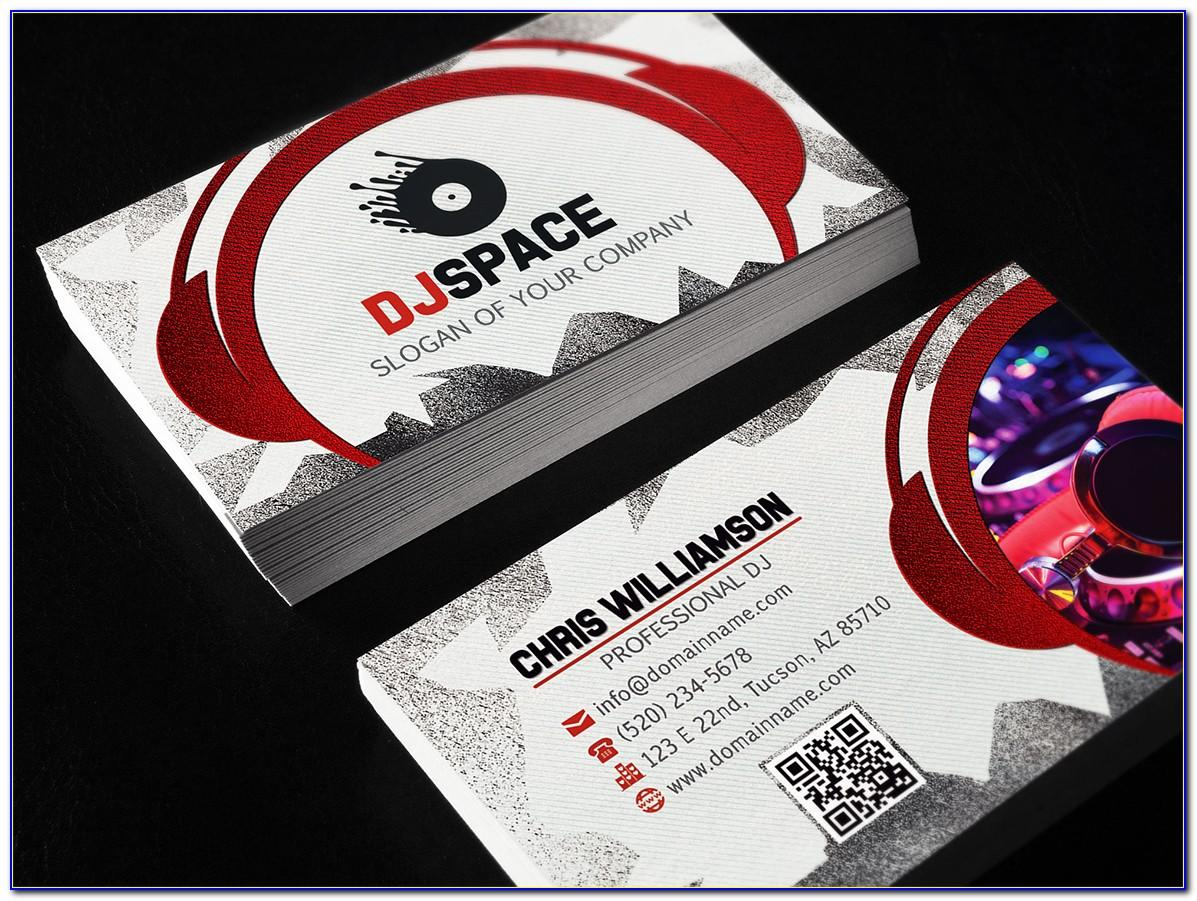 Dj Business Cards Templates Free Download