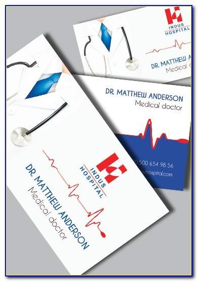 Dr Visiting Card Format