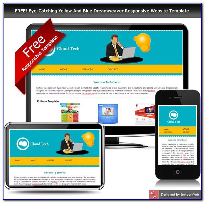 Dreamweaver Responsive Web Design Templates