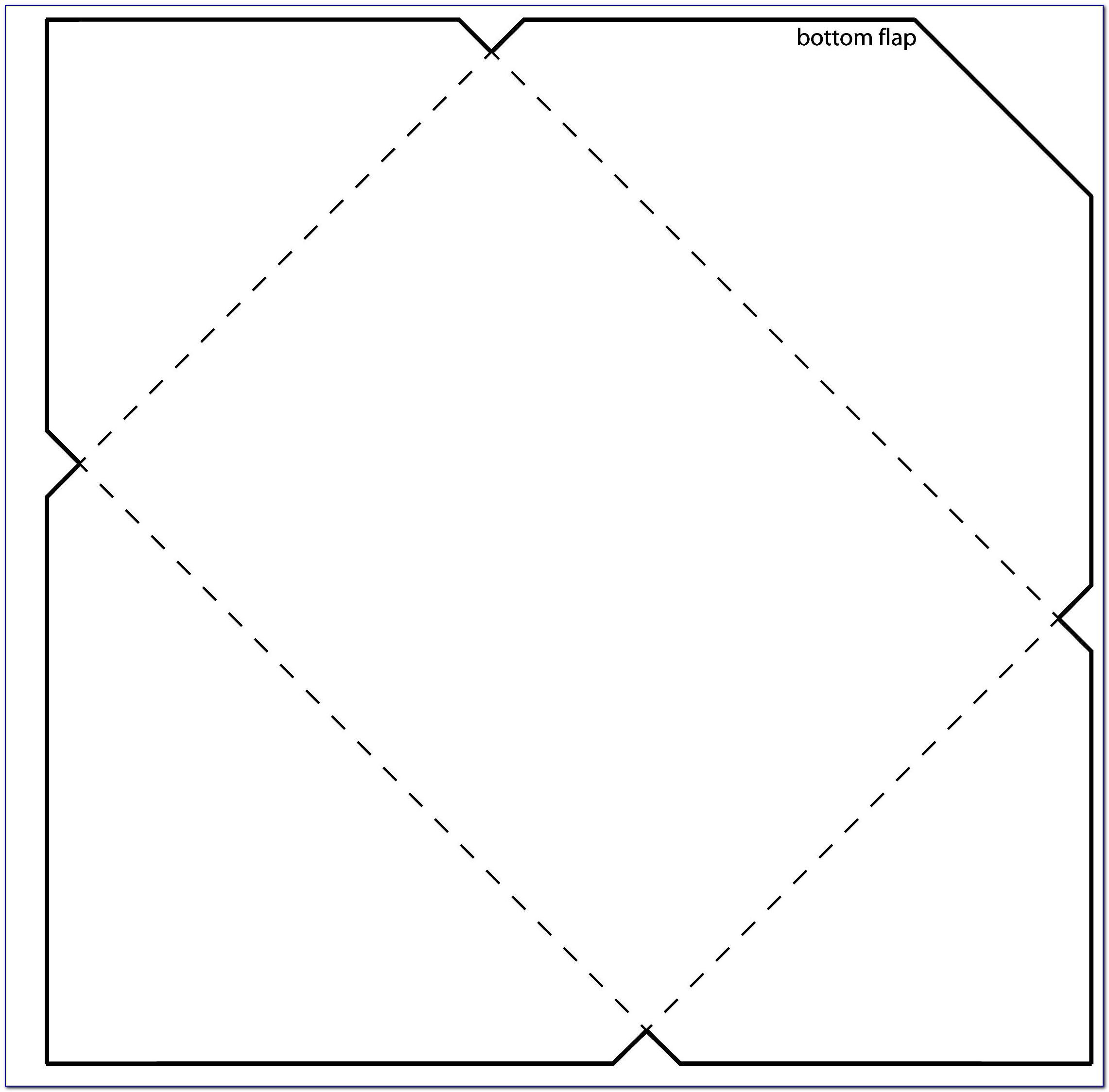 Envelope Template Printable Free