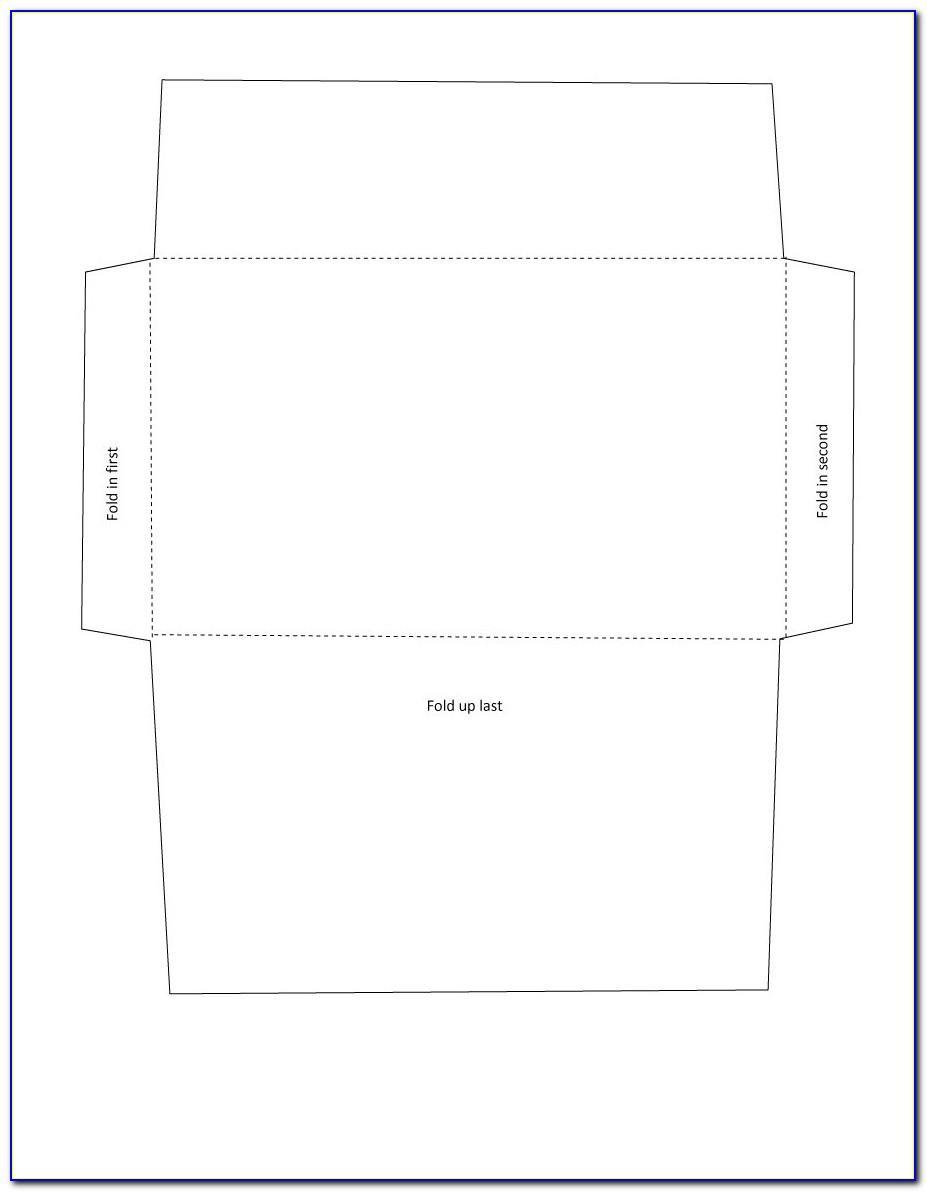 Envelope Template Printable Pdf