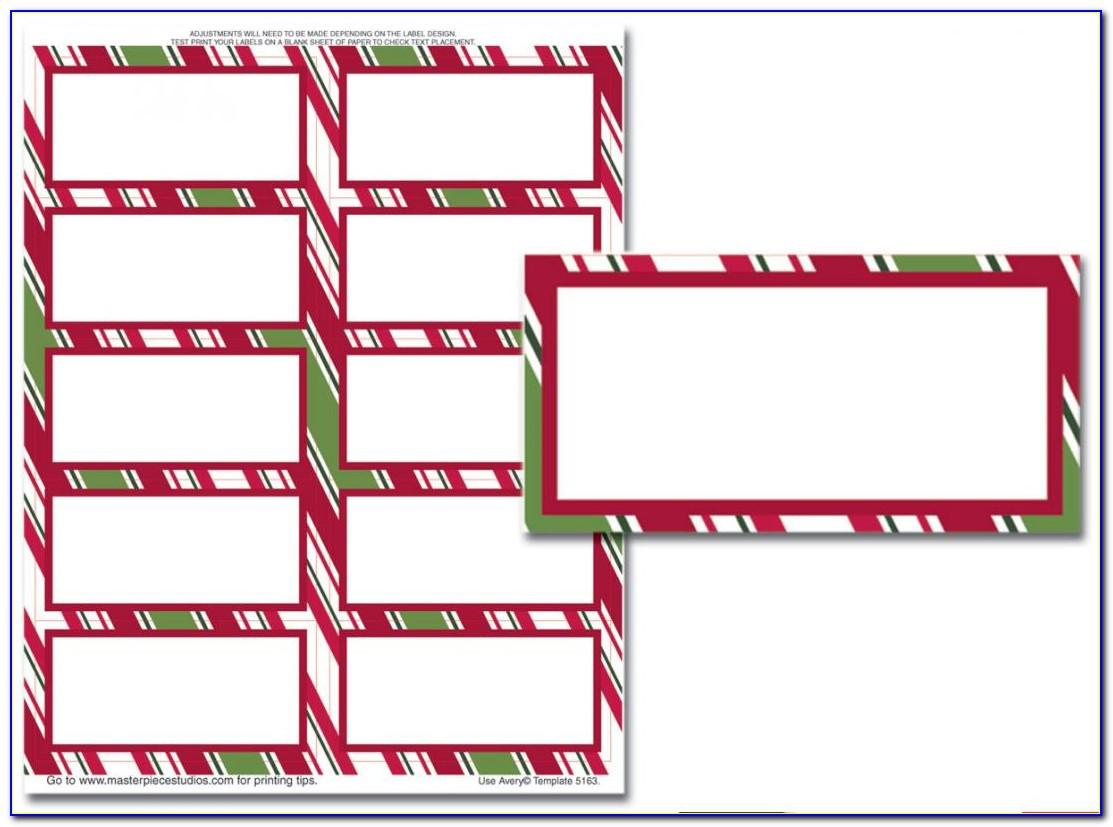 Free Avery 2x4 Labels Template