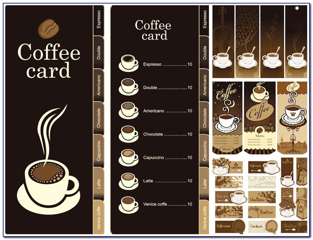 Free Download Coffee Shop Menu Templates