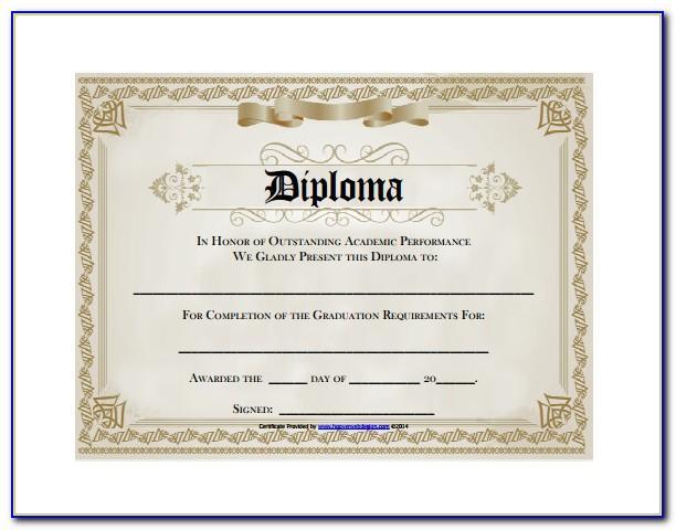 Free Editable Graduation Certificate Templates