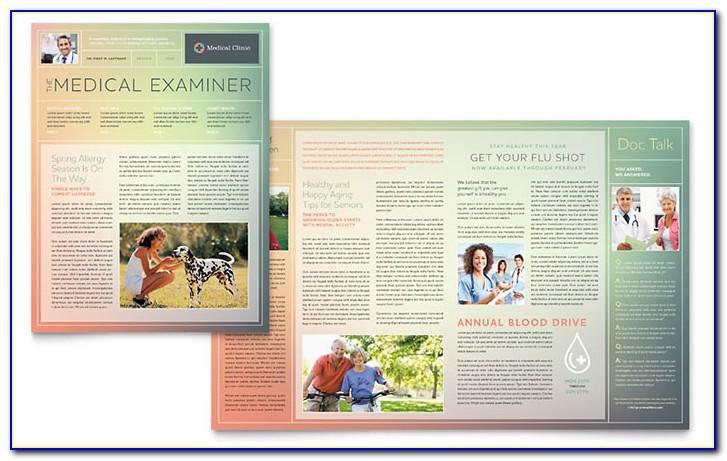 Free Editable Medical Newsletter Templates