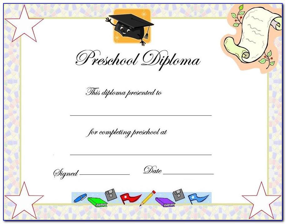 Free Graduation Certificate Templates Psd