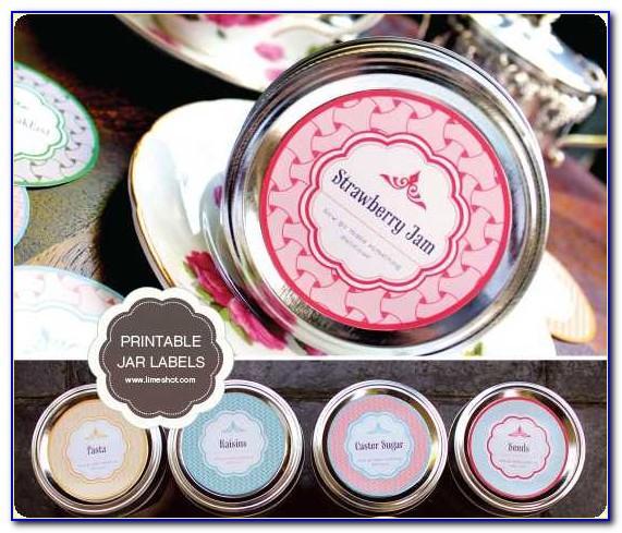Free Mason Jar Printable Labels