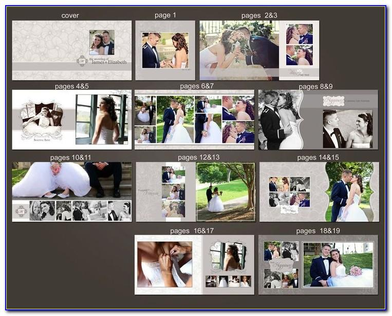 Free Photoshop Wedding Album Templates