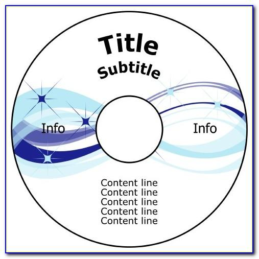 Free Printable Cd Label Templates For Word