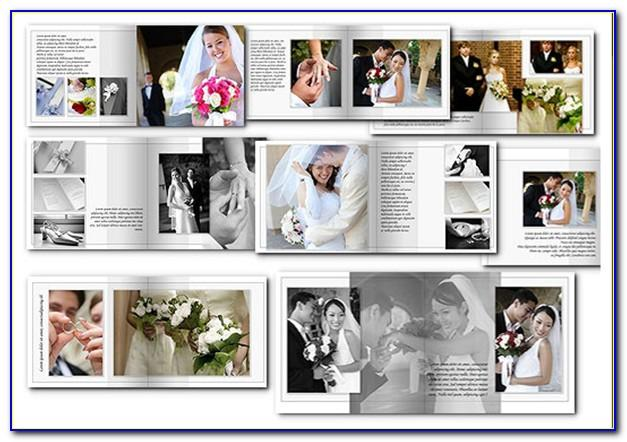 Free Psd Wedding Album Templates