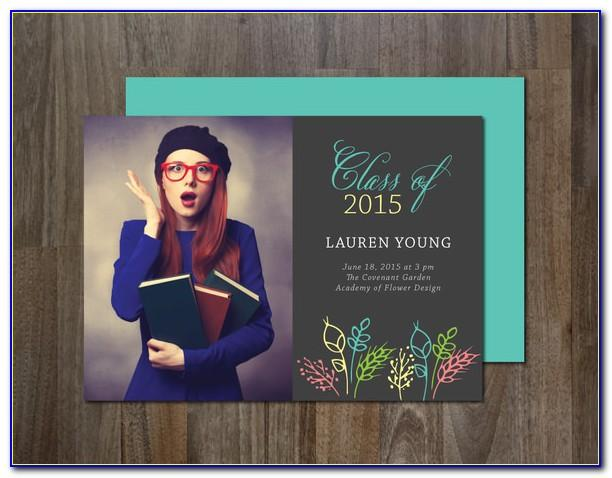 Free Template Graduation Invitation