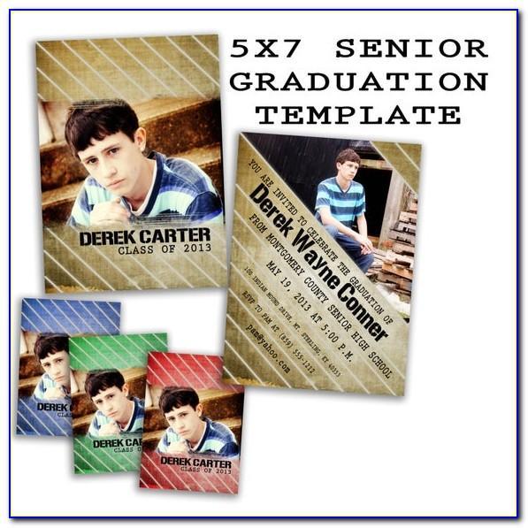 Free Template Graduation Party Invitations