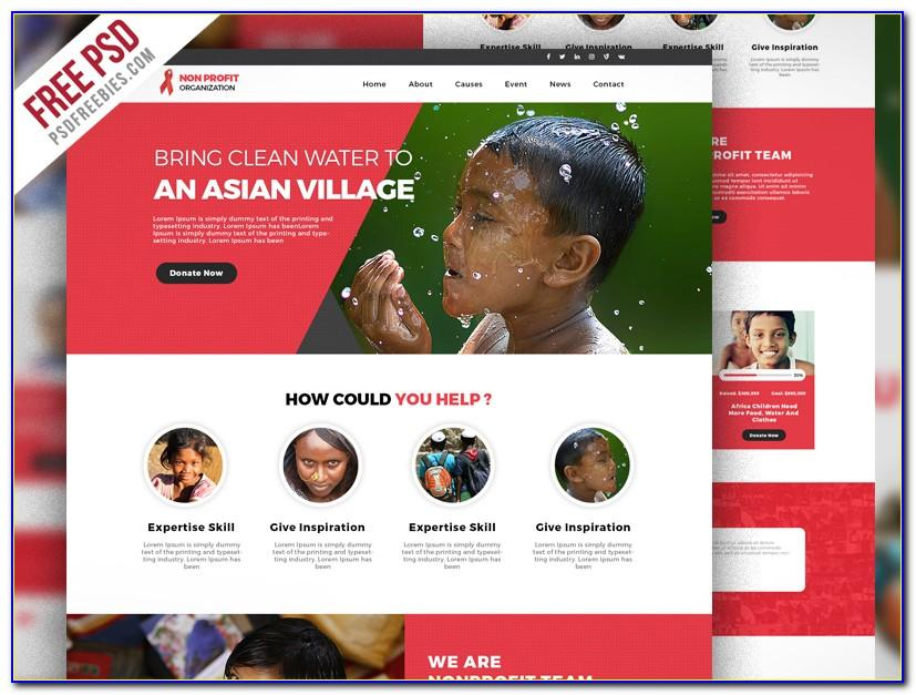 Free Web Templates For Charity Organizations