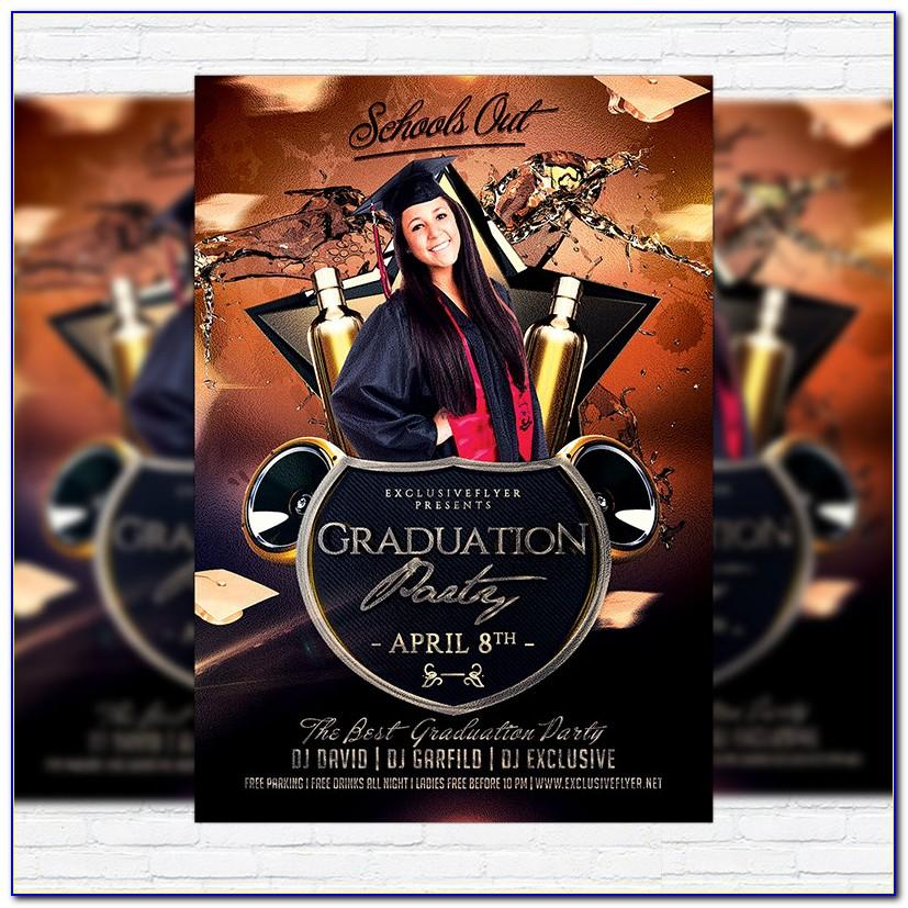 Graduation Invitation Template 2019