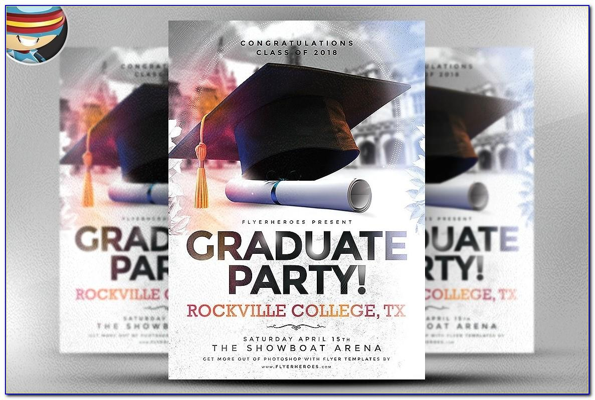 Graduation Invitation Template Publisher
