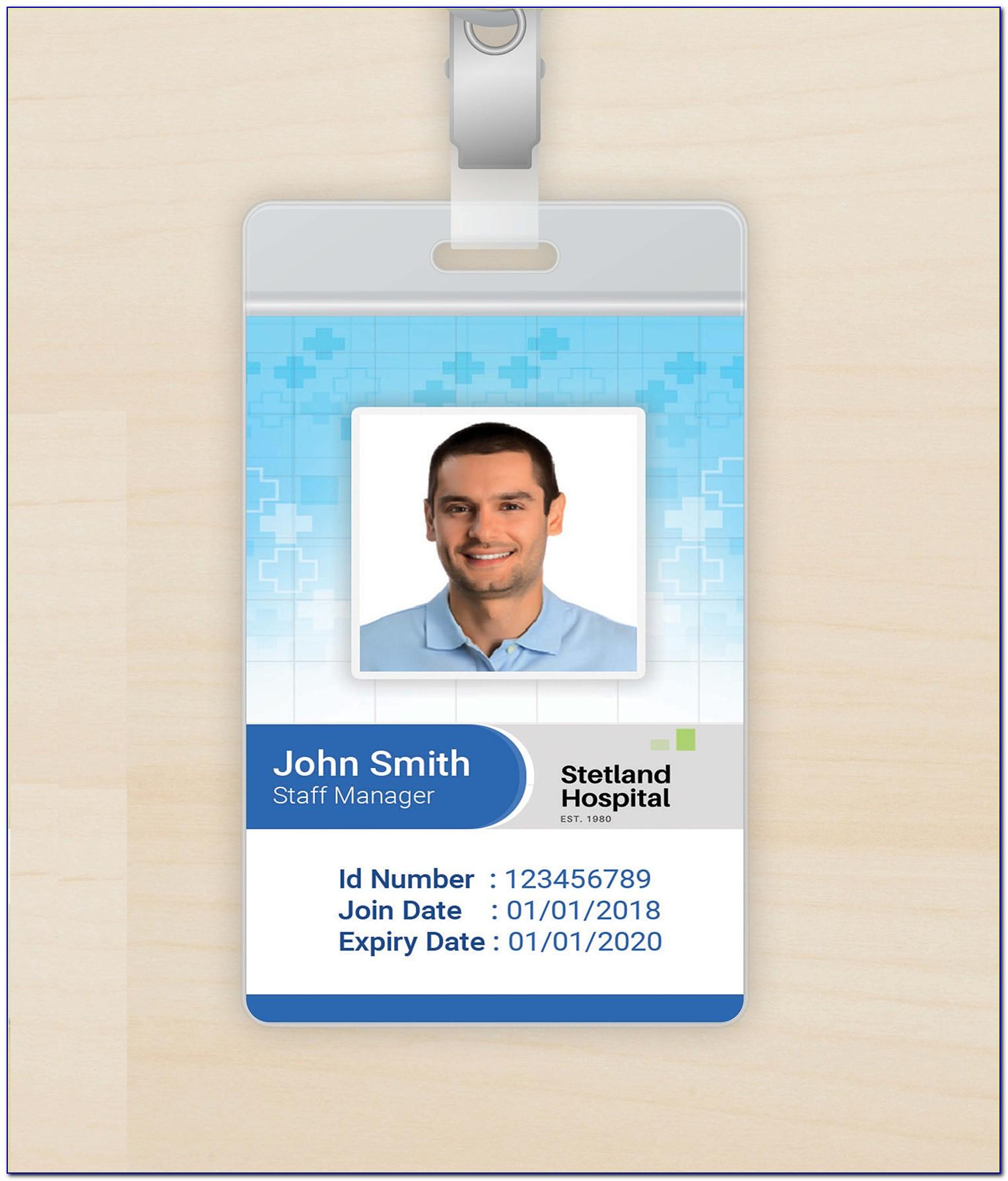 Grey Sloan Memorial Hospital Id Badge Template