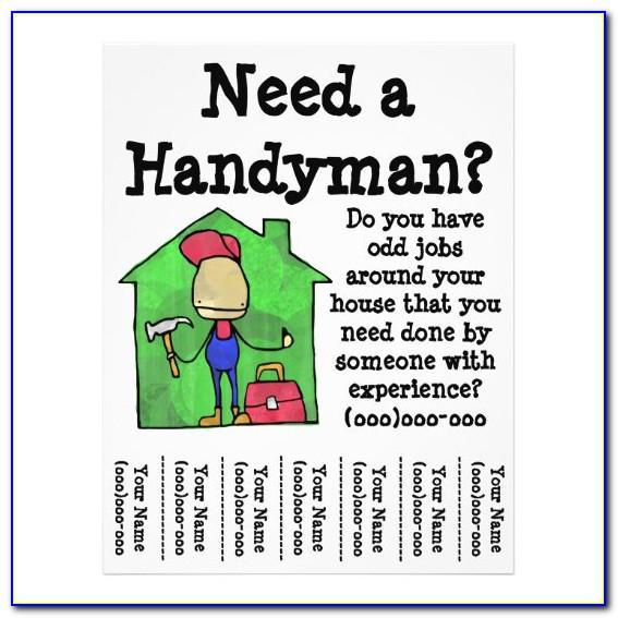 Handyman Advertising Templates