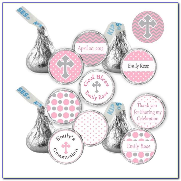 Hershey's Kisses Label Template Free