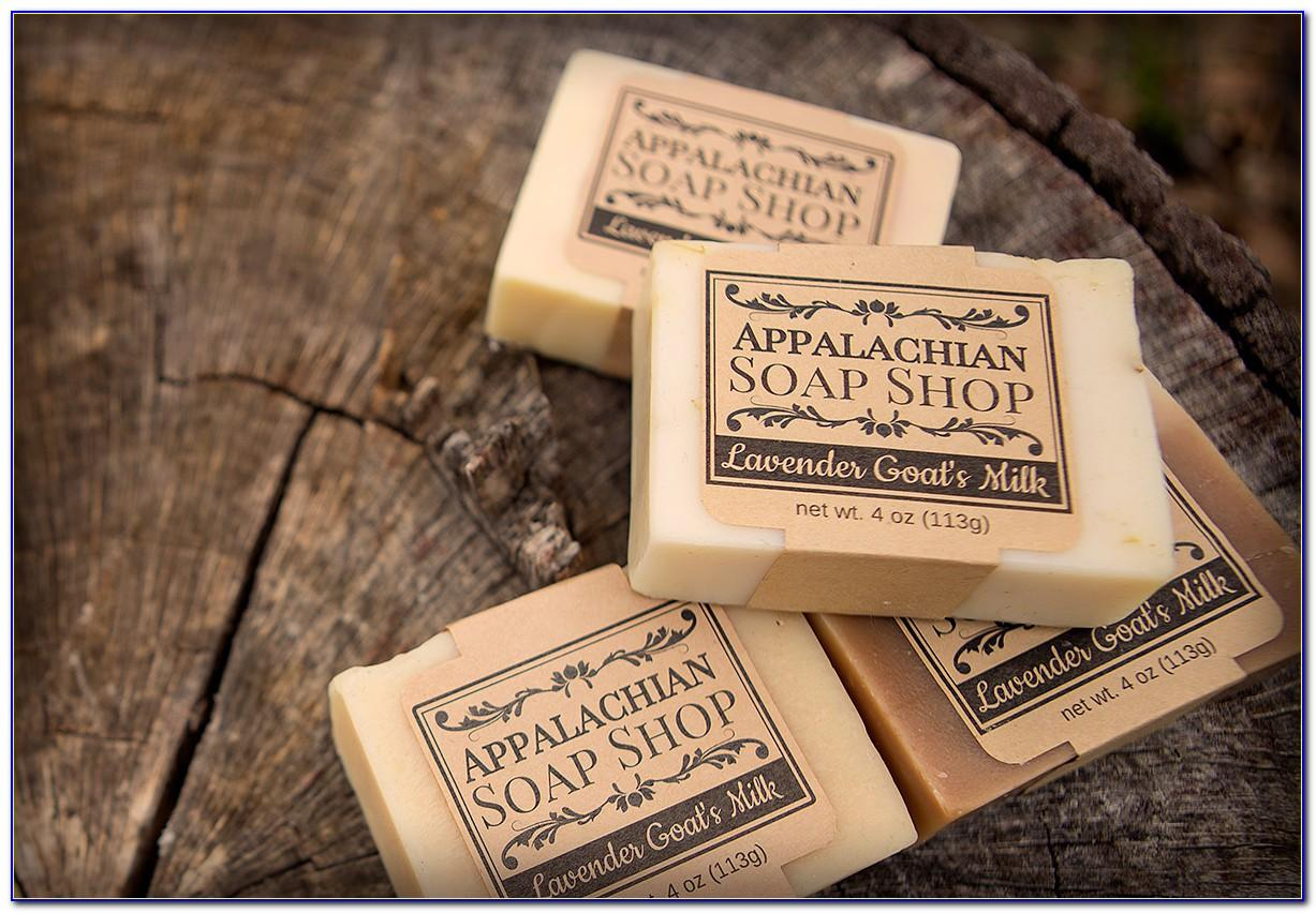Homemade Soap Labels Template