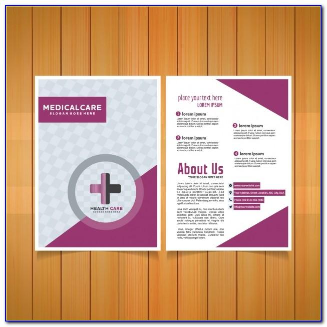Hospital Brochure Template Free Download