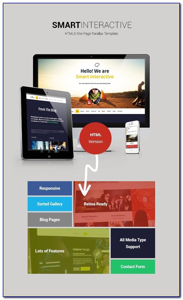 Interactive Html5 Website Templates