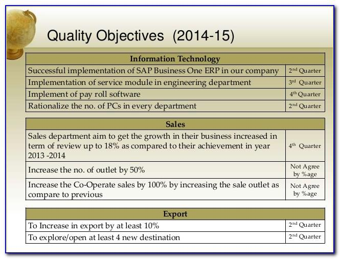 Iso 27001 Management Review Meeting Template