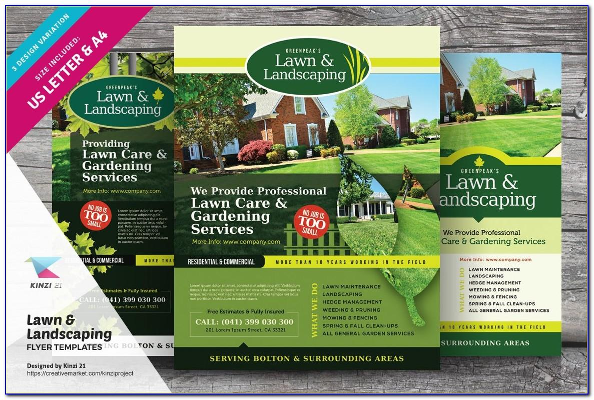 Landscaping Flyers Templates Free