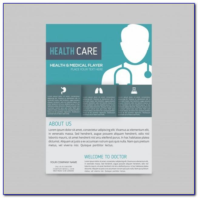 Medical Brochure Template Free Download