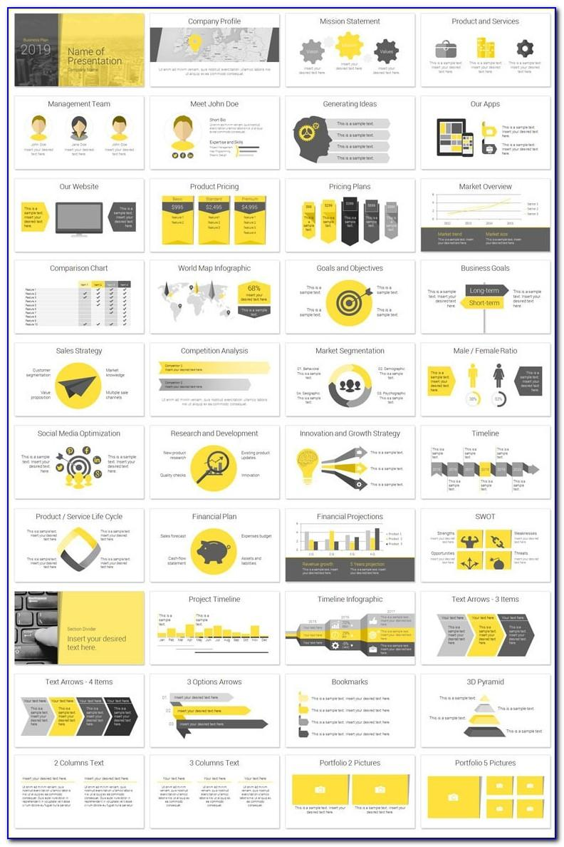 Modern Business Plan Powerpoint Template Free Ppt