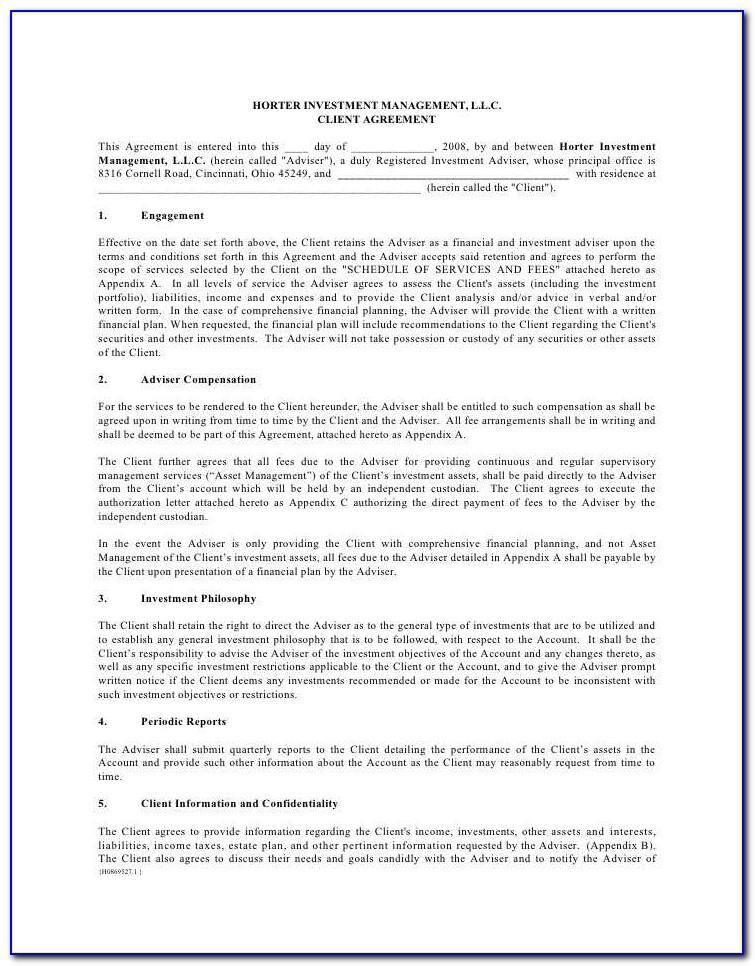 Non Circumvention Agreement Template Uk