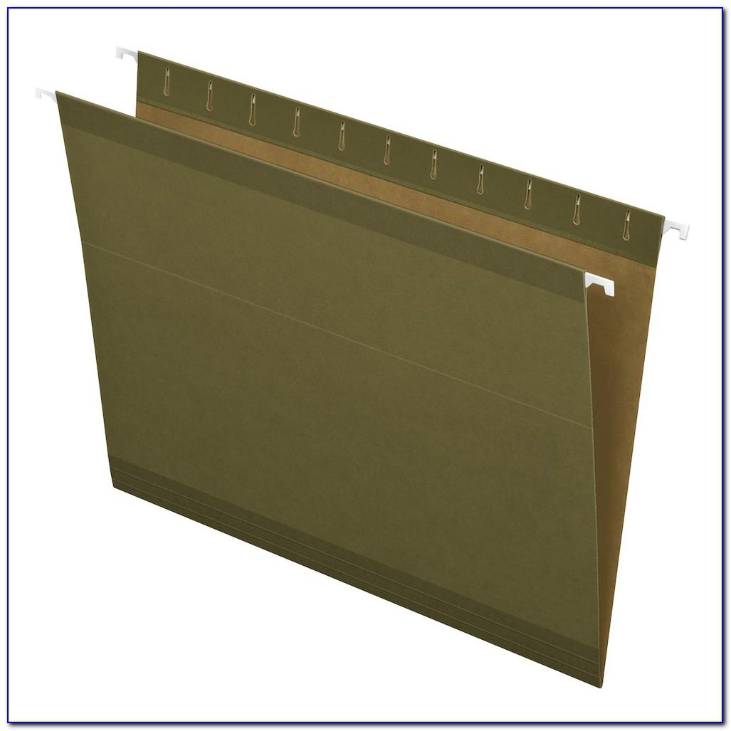 Pendaflex Ready Tab Hanging Folders Template