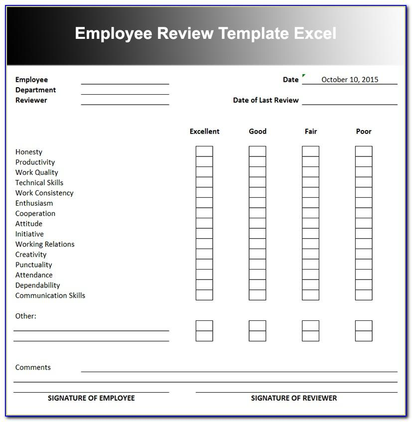Performance Appraisal Sample Wording