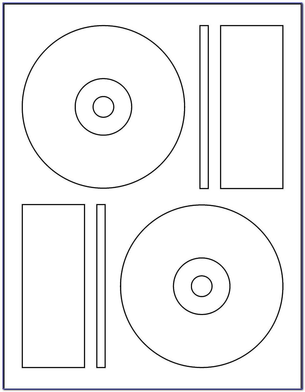 Printable Cd Label Template Free