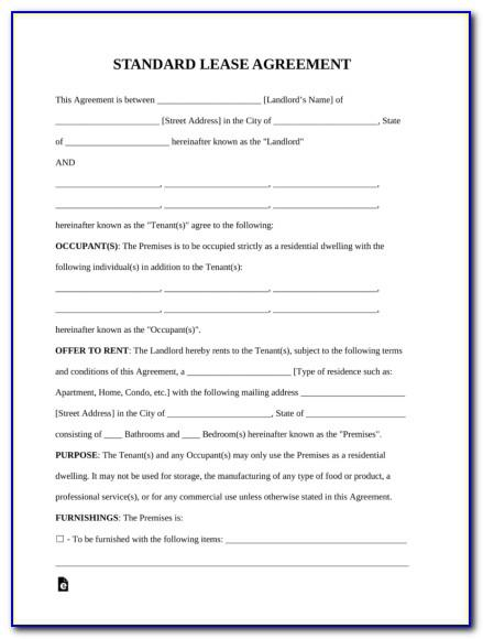 Printable Horse Lease Agreement Template