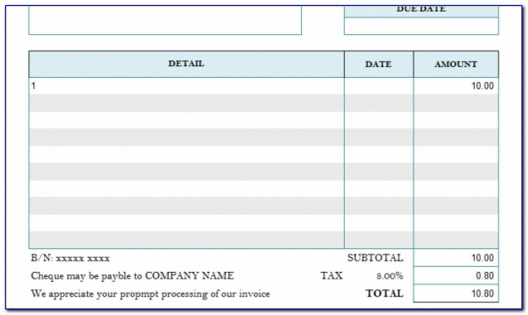 Production Assistant Invoice Template