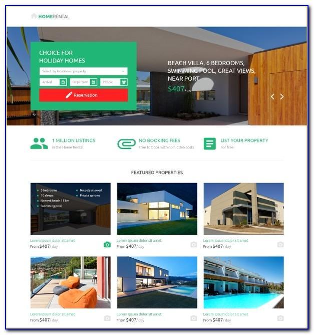 Real Estate Landing Page Template Free Download