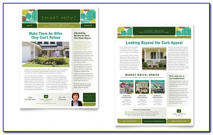 Real Estate Newsletter Template Ideas