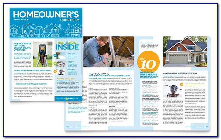 Real Estate Print Newsletter Templates