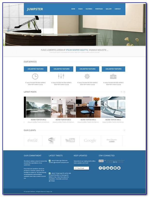 Responsive Ecommerce Websites Templates