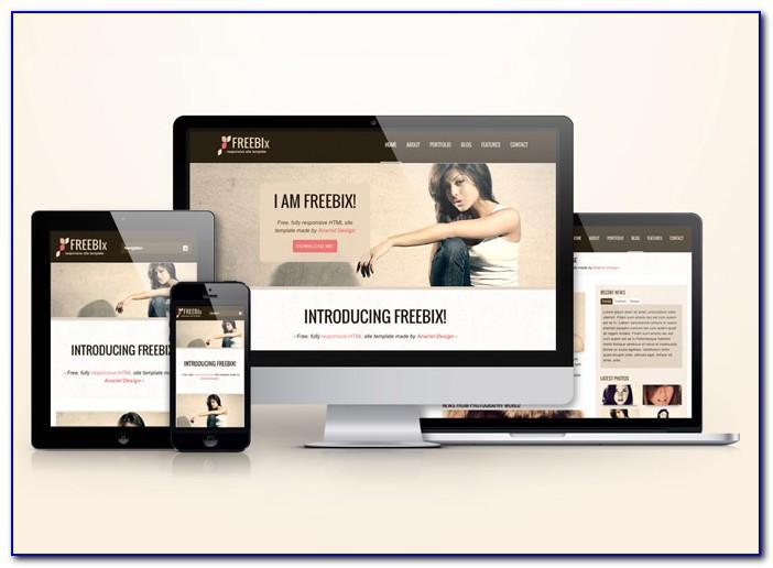 Responsive Websites Templates Download