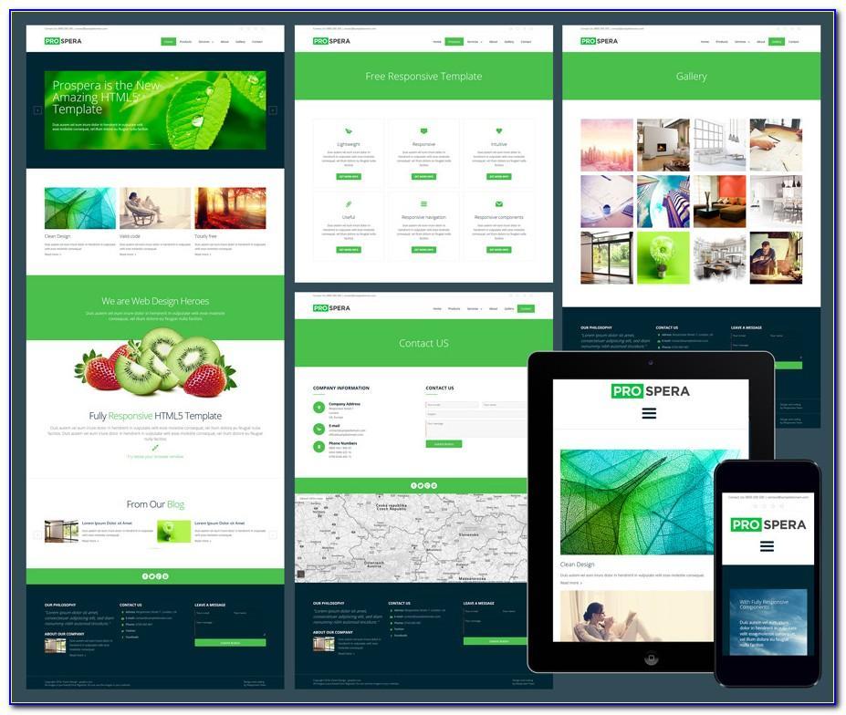 Responsive Websites Templates Free Download