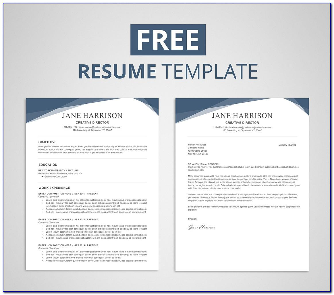 Resumes Templates Ms Word