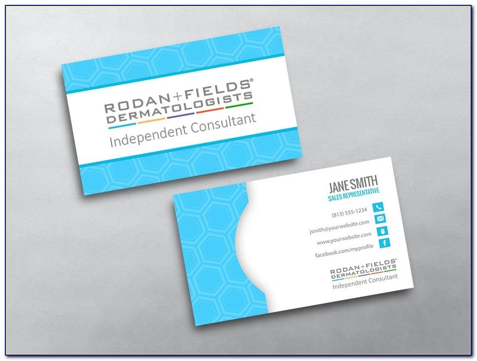 Rodan And Fields Business Card Template Free