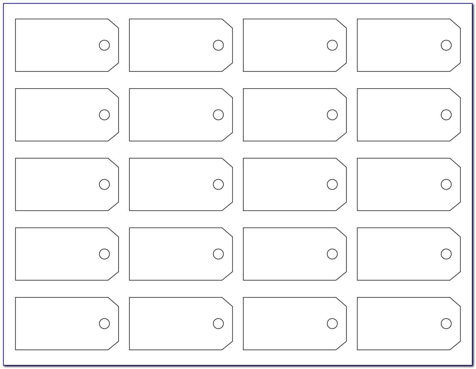 Sale Tags Template Free
