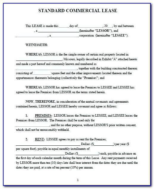 Sample Commercial Lease Agreement Philippines