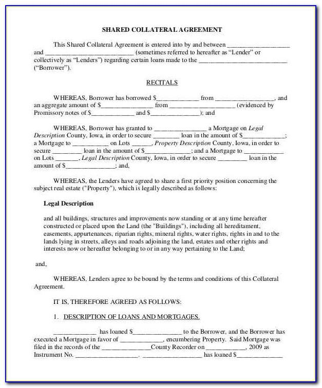 Simple Collateral Loan Agreement Template Philippines